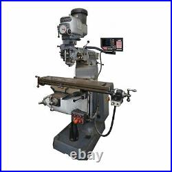 Newall 3 axis DRO kit for Bridgeport Mill 42 BTC Quill IP67 (Mill not included)
