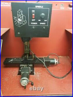 PAXTON/PATTERSON (SHERLINE Style) CNC MILL TRAINING CENTER with Controller
