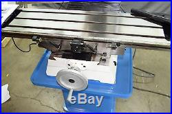 Pm-940m-pdf 9x40 Vertical Bench Top Milling Machine, Hardened Bed & Ways