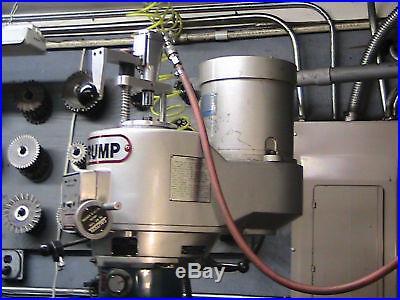 PNUEMATIC IMPACT POWER DRAWBAR FOR BRIDGEPORT OR IMPORT MILLING MACHINE NEW