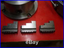Phase II 6 Rotary Table and 5 chuck / Super Spacer 220-006 559-112 Phase 2