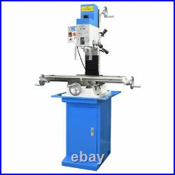 Pm-30mv Vertical Bench Type Milling Machine & Stand Variable Speed Free Shipping