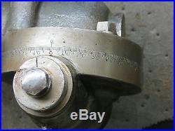 Porter Cable Vertical Milling Attachement Burke Vernon Sheldon Horizontal