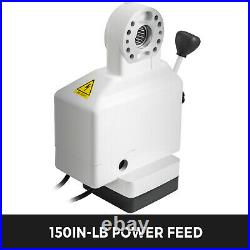 Power Feed Mill Power Feed 150 in-lb Z-Axis for Drilling & Milling Machine