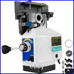 Power Feed X-Axis 200RPM 450in-lb for Bridgeport Type Milling Machine 220V