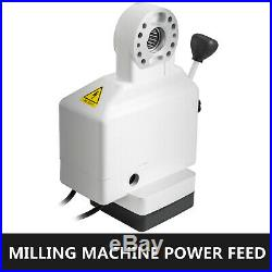 Power Feed Y-Axis 150 Lbs Torque for Bridgeport Type Milling Machines 0-200 RPM