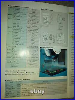 Practically NEW Kira VTC 30E CNC Machining Center w Fanuc Control DFW