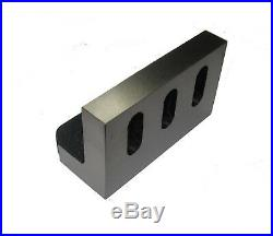 Precision Angle Plate 100 X 60 MM For Milling Lathes Engineering Myford