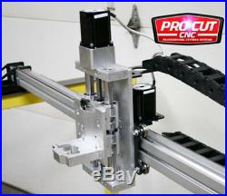ProCutCNC HD5100G 5'x10' HD CNC Gantry Router or Plasma Kit, Soft Touch Z Axis