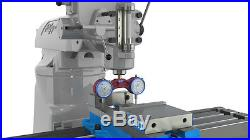 Pro Tram Bridgeport Head Square Knee Mill Spindle CNC Router milling endmill #01