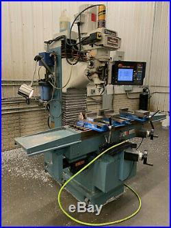 ProtoTRAK DPMSX5P 3 axis bed mill