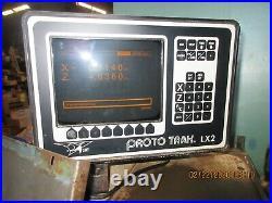 Prototrak 1440 CNC Lathe lx3 control NICE Southwestern Industries