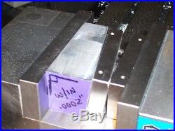 QUADRALLEL- New Mill Tool for Machinist, Bridgeport, CNC Vise Vice Jaw Fits KURT