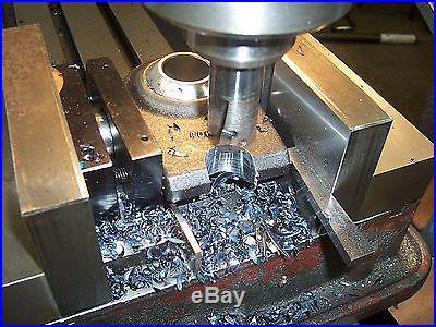 QUADRALLEL- New Mill Tool for Machinist, Bridgeport, CNC Vise Vice Jaw Insert bn