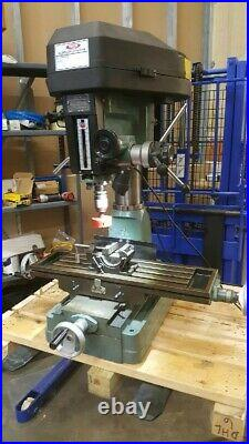 RUTLAND MILL Bench Tabletop Benchtop Drilling and Milling Machine with BONUS