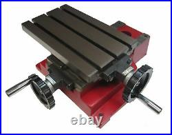 Rdg Tools 9-1/2 X 6 Compound Milling Table With Platform Metric Graduations