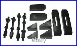 Rdgtools 24pc Clamping Kit Step Blocks Clamps 6mm Studs 8mm Tee Nuts Milling M8