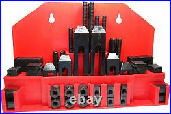 Rdgtools 52pc 3/8 T-slot Clamping Kit With 5/16 Stud Clamps Step Blocks T Nuts