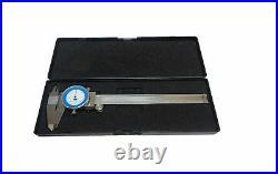 Rdgtools Dial Vernier Fraction Caliper 0-6 Imperial 0.01 / 1/64