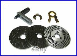 Rdgtools Dividing Plate Set For 6 Rotary Table / Dividing Head 4 / 6