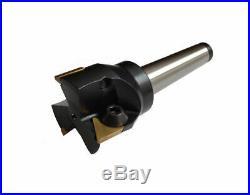 Rdgtools Face MILL 40mm Diameter 2mt Milling Cutter + Tips Bore Milling Tpun 16