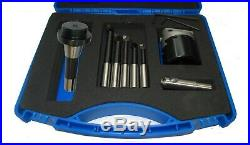 Rdgtools R8 Boring Head Kit With Tools + Flycutter In Fitted Box Bridgeport