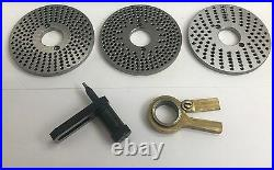 Rdgtools Small Dividing Plate Set For Rotary Tables Milling Engineering Tools