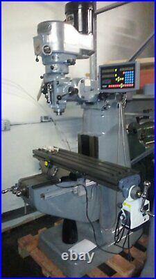 Recondition 2 HP Bridgeport Milling Machine, Vertical Ram Type MILL Knee MILL