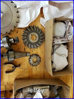Rockwell Horizontal Milling Machine Mill Vise Tooling Gauges Precision Fab