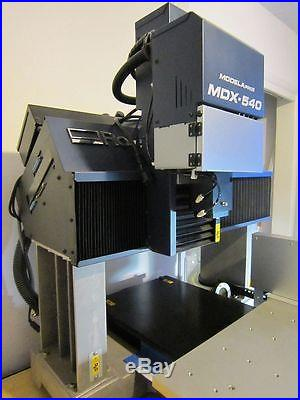 Roland MDX-540A Pro II 3D CNC Benchtop Milling Machine