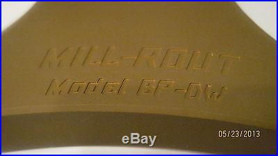 Router Engraver for CNC Mill Quill Bridgeport Tormach Jet Proto Track Hurco Boss