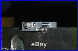 SET OF 2 MACHINE SHOP VISE STOPS FOR CNC OR MANUAL MILL VISE LOW PROFILE