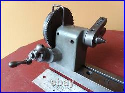 SOUTH BEND SHAPER indexing dividing center fixture rotery attachment machine