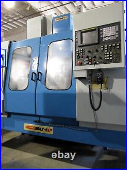 SUPERMAX MAX-4XP VMC CNC MILL 43x24 Travels 4th-Axis Rotary, 24-Side Mount ATC