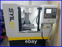 SYIL X7 Combo Vertical Machining Center, 2020- 12K Spindle, Tool Setter, AC Conv