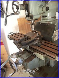 Select Vertical Milling Machine Model 1/2V