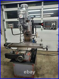 Sentec Bed Mill Southwestern Industries Proto Trak CNC Milling Machine