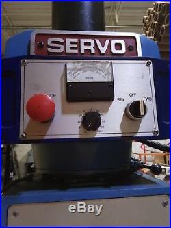 Servo 3 Axis Knee Mill, New Cnc And Servos, Ball Screws, New Vfd, Power Draw Bar