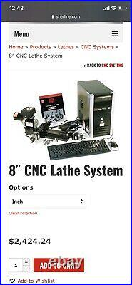 Sherline 5400 CNC Milling Machine / Sherline 8 CNC Lathe Workshop