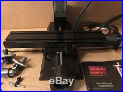 Sherline 5410 5400 CNC Ready Metric 12 Deluxe Mill Milling Machine Adjustable