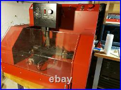 Sherline CNC mill with enclosure and controller + 4th axis