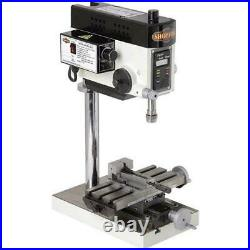 Shop Fox M1036 Micro Milling Machine with Compound Slide Table & Variable Speed