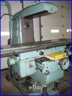 Sigma Horizontal/Vertical Combination Milling Machine Model FA5 B-H Tos Kurim