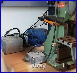 Sixis 101 milling machine ex Bulova and Hamilton watch factories