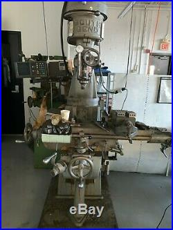 SouthBend 9x 32 Vertical Milling Machine DRO, Power Feed & Variable Speed Motor