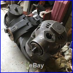 Speed Mill Kearney Trecker Milwaukee Milling Machine Vertical Head Horizontal