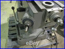 Supermax Titan YC-1-1/2 VS-T42 V. Speed Turret Milling Machine! Exc. Cond. Cool