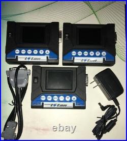 TITAN DNC. Transport DNC (TAPE MODE) for the machine CNC. DNC USB READER RS232