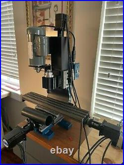 Taig MicroMill CNC with Stepper Motors and PC Controller