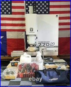 Tormach 770M CNC Milling Machine Less Than 20 Minutes Run Time